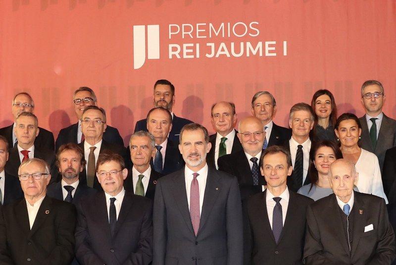 """Trigésimo primera edición de los """"Premios Rei Jaume I""""."""