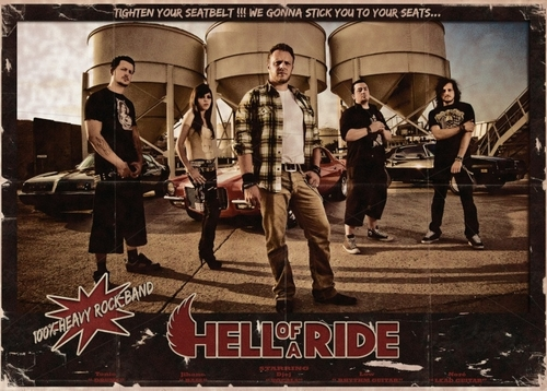 HELL OF A RIDE_Band