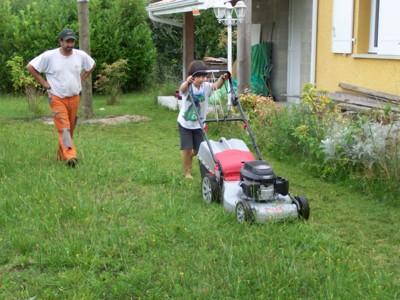 Blog de chipiron :Un chipiron dans les Landes, Tondeuse....