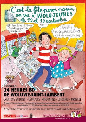 Wolu1200 : 24 Heures BD de Woluwe-Saint-Lambert