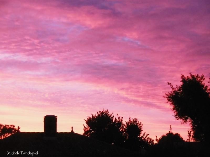 Le ciel au matin du 3 octobre....