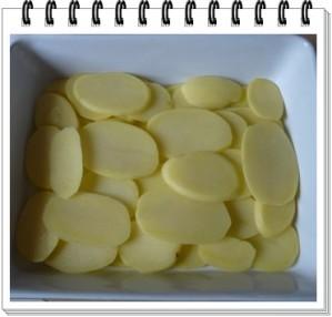 lamellles de pommes de terre