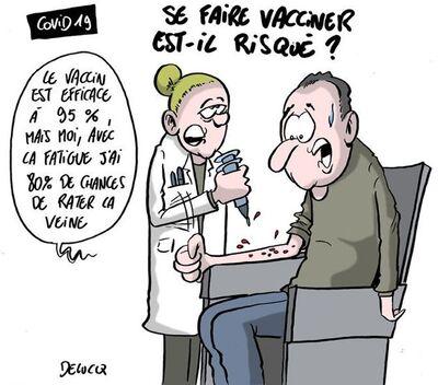 Que dire aux personnes réticentes à se faire vacciner.?