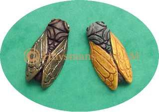 moule cigales miniatures - Arts et Sculpture: sculpteur, artisan d'art