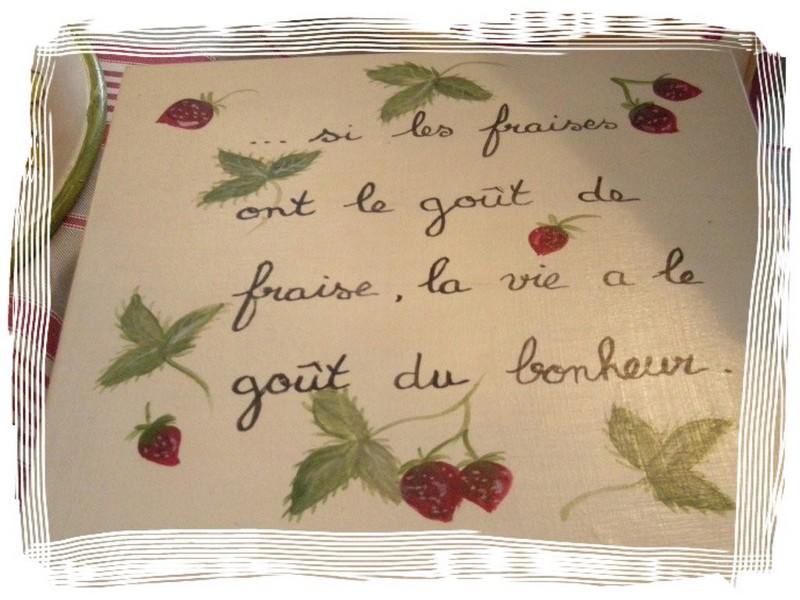 """Succulente """"La fraise des bois ..."""