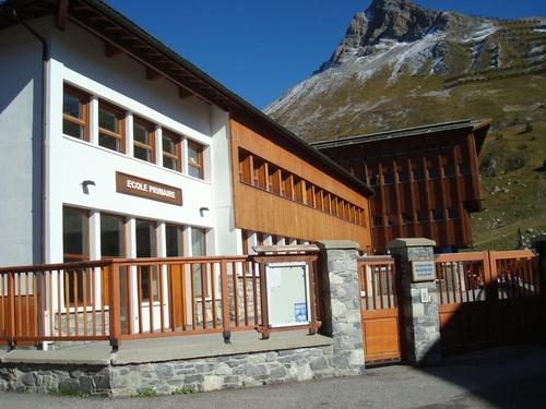 Présentation de l'école de Tignes en France