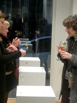 Vernissage expo bijoux à la Galerie 2.0
