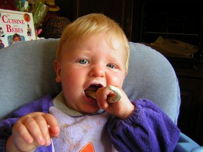 Blog de melimelodesptitsblanpain :Méli Mélo des p'tits Blanpain!, Poussées dentaires de bébé