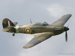 Hawker Hurricane modèloe Mk.IIB