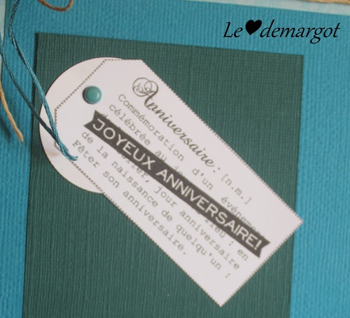 Scrap / Carte anniversaire