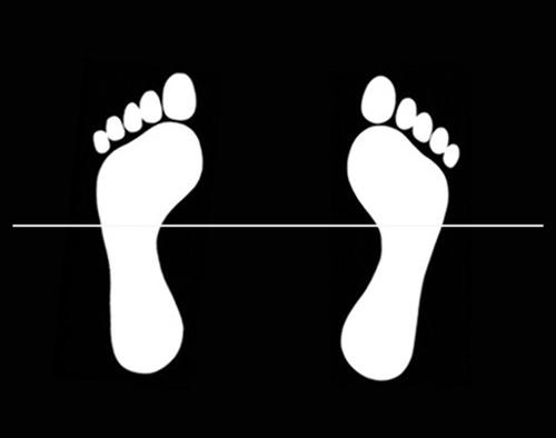 Position des pieds