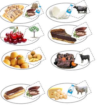 Lire le menu et l'illustrer