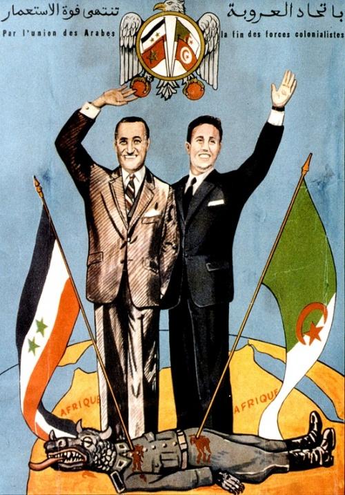 Affiche à Alger, Mai 1963