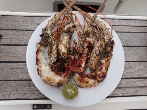 La gastronomie à bord d'Exocet