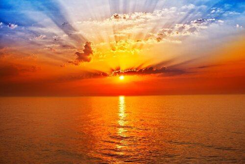Mystérieux soleil ...