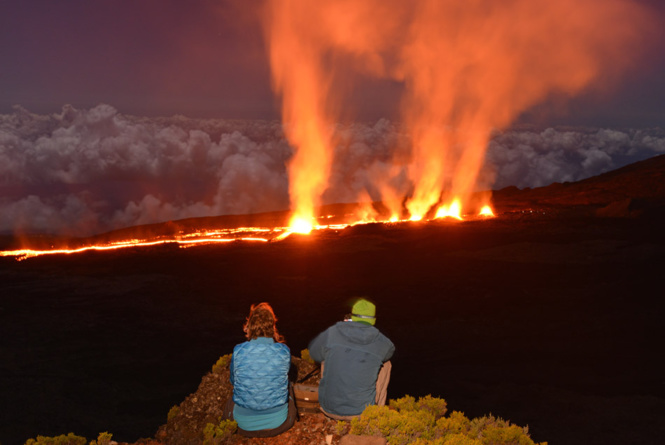 Piton de la Fournaise: Une éruption sensationnelle!