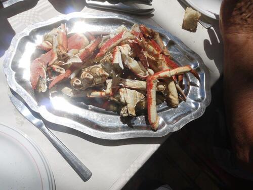 Voici mon plat...pas mal servie !!!