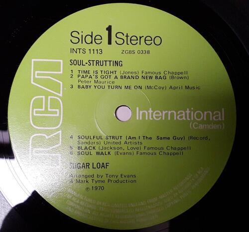 "SUGAR LOAF ""SOUL STRUTTING"" RCA © 1970 INTS 1113"