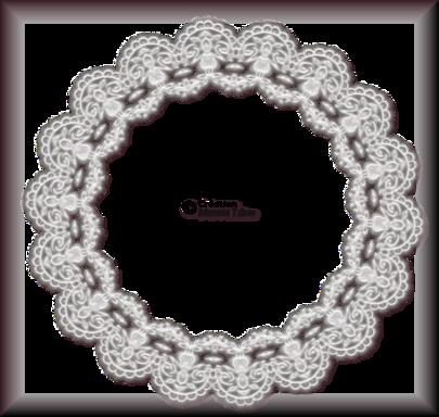 Tube cadre de dentelle 2943