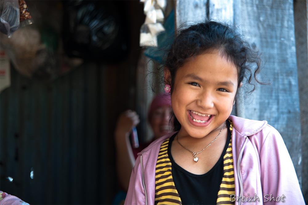 Portraits Cham Cambodge : Sourire radieux