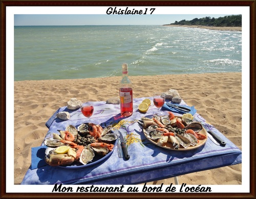 Assiette de fruits de mer