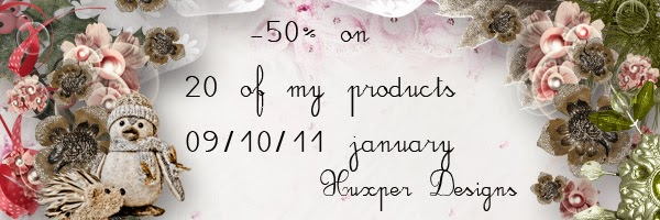 Promotions sur les produits de Xuxper Designs !
