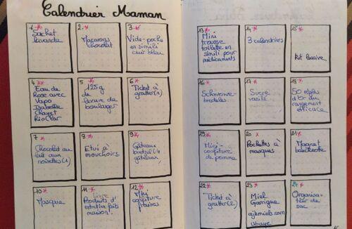 Réaliser des calendriers de l'Avent - 6, le point final