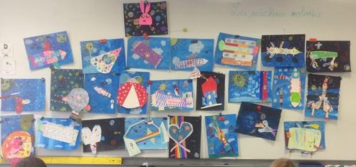 Nos œuvres d'art avec Inès, intervenante en Arts visuels