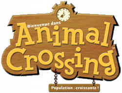 Logo Animal crossing Gamecube