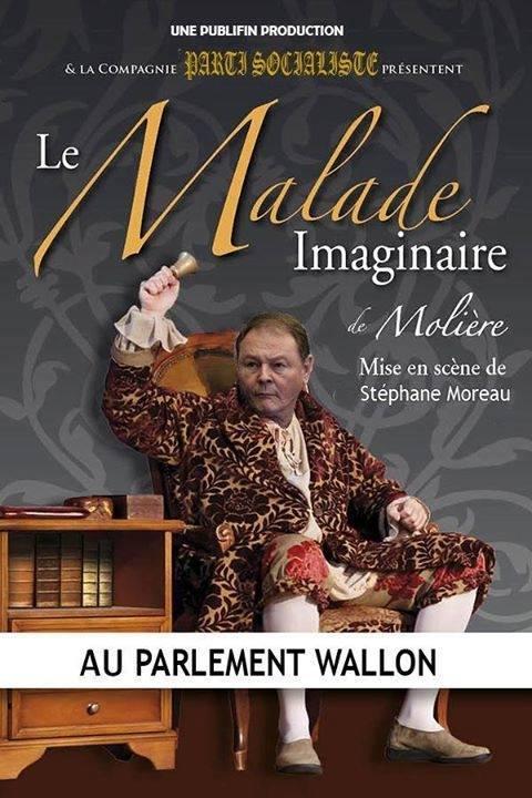 """""""Le malade imaginaire"""" Mise en scène Stéphane Moreau avec André Gilles en vedette"""
