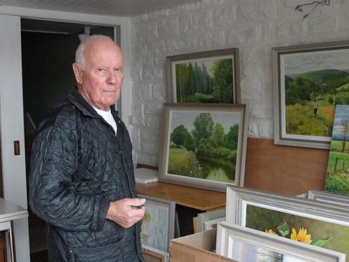 -André Lagarde, peintre paysagiste