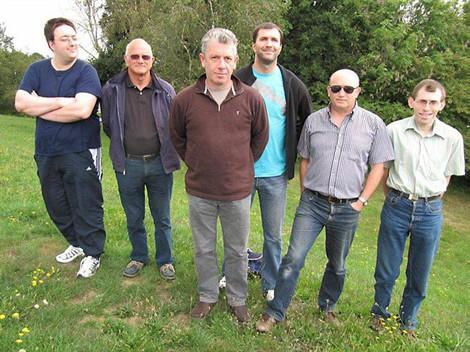 L'équipe de la section tennis de table en ordre de bataille samedi au Porzou.