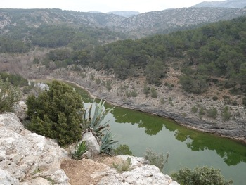 Le lac Zola vu du promontoire