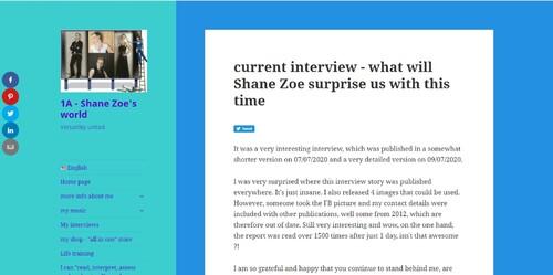 Shane Zoe