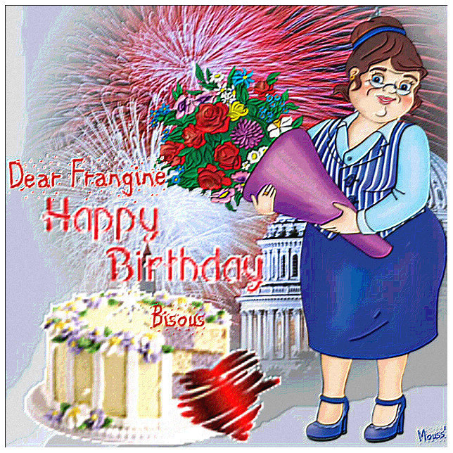 Un Joyeux Anniversaire à Ma Frangine Maelno