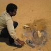 Mali Taboye Fabrication de pain de sable