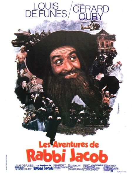 LES AVENTURES DE RABBI JACOB - BOX OFFICE LOUIS DE FUNES 1973