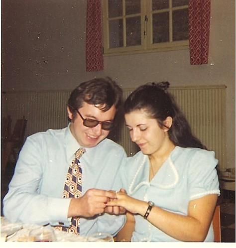 Le 17-9-1972, fiançailles bernard et marie-claude 001