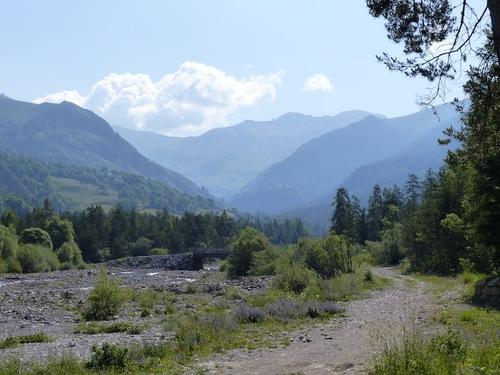 Le long de la Rouanne (Ancelle - Champsaur)