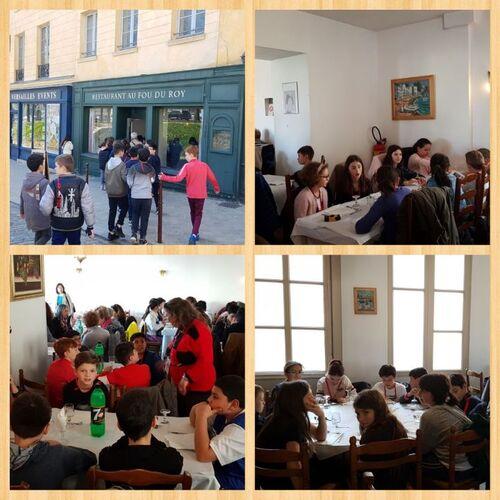 Les CM2 à Paris - Jour 2