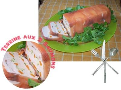 Blog de chipiron :Un chipiron dans les Landes, terrine aux deux saumons