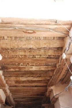 Voilà un plafond en palmier