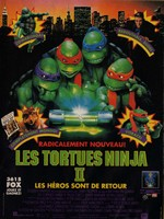 Les Tortues Ninja 2 : Les héros sont de retour affiche