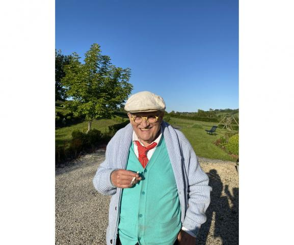 David Hockney en Normandie, le 20 mai 2020