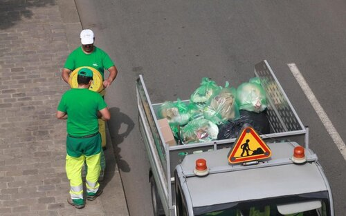 Hidalgo et les ordures,