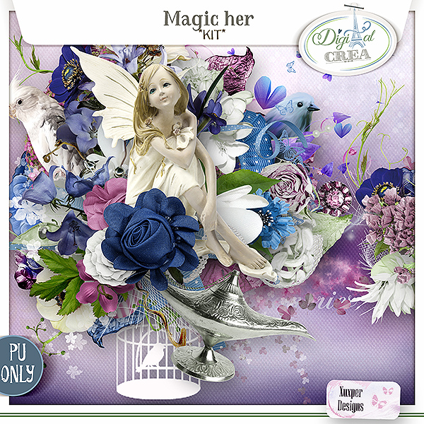 Magic Her Kit de Xuxper Designs