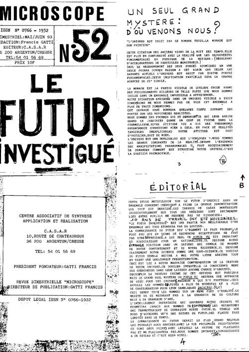 Microscopen°52 le futur investigué pages 1 a 32