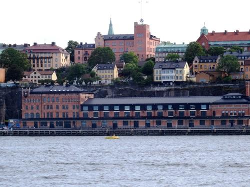 Stockholm: autour de l'Ile aux Bâteaux (photos)