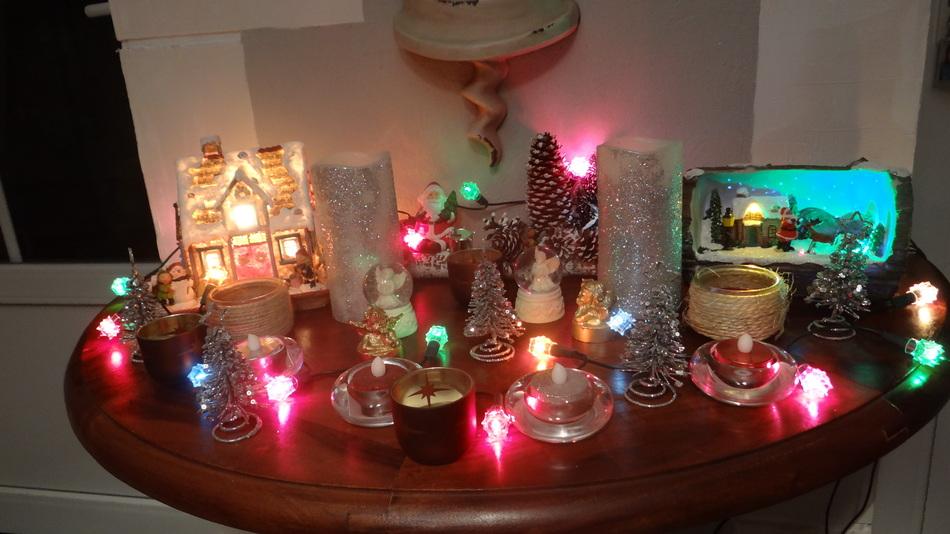 Quelques Décorations de Noël à la Maison..