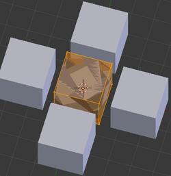 Le Bevel Modifier avec Only Vertices d'activé seulement